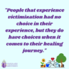 Wellness…Shifting From Victim to Survivor