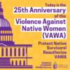 The Violence Against Women Reauthorization Act (VAWA) of 2019 Social Media Toolkit